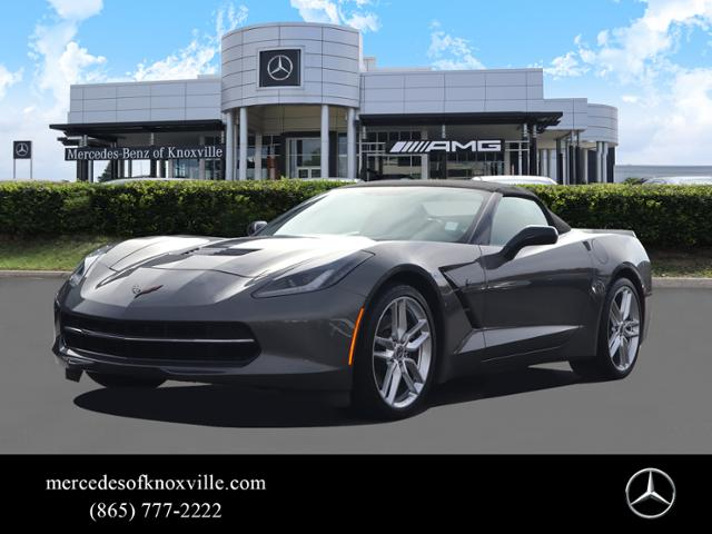 Pre-Owned 2015 Chevrolet Corvette 2dr Stingray Z51 Conv w/3LT