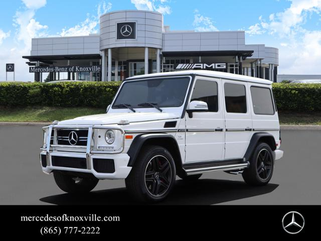 Certified Pre-Owned 2017 Mercedes-Benz G-Class AMG® G 63 SUV
