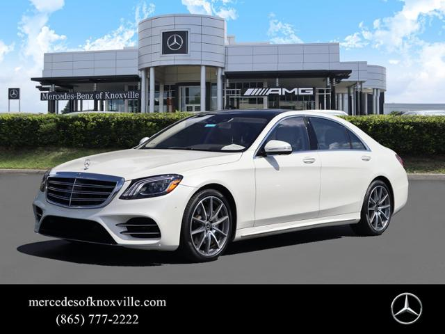 Pre-Owned 2019 Mercedes-Benz S 560 Rear Wheel Drive SEDAN