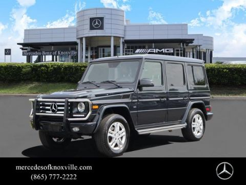 Certified Pre-Owned 2015 Mercedes-Benz G-Class 4MATIC® 4dr G 550