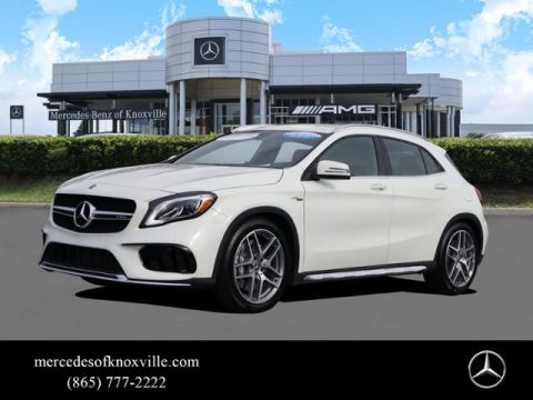 Certified Pre-Owned 2018 Mercedes-Benz GLA AMG® GLA 45 4MATIC® SUV