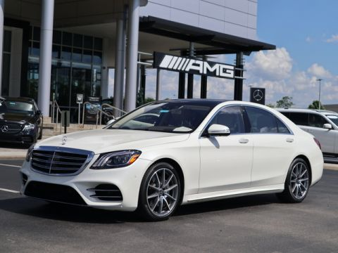 Pre-Owned 2019 Mercedes-Benz S-Class S 560 Sedan