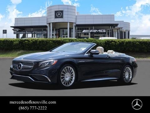 Certified Pre-Owned 2017 Mercedes-Benz S-Class AMG® S 65 Cabriolet